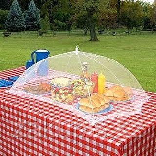 Зонт - сетка для защиты еды от насекомых