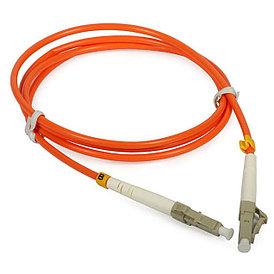 Оптический патч-корд LC UPC OM2 3 метра оранжевый
