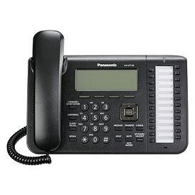 SIP телефон Panasonic KX-UT136RU-B