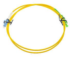 Оптический патч-корд SC/LC APC/UPC 5 метров желтый