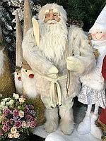 Санта в шубке светлый