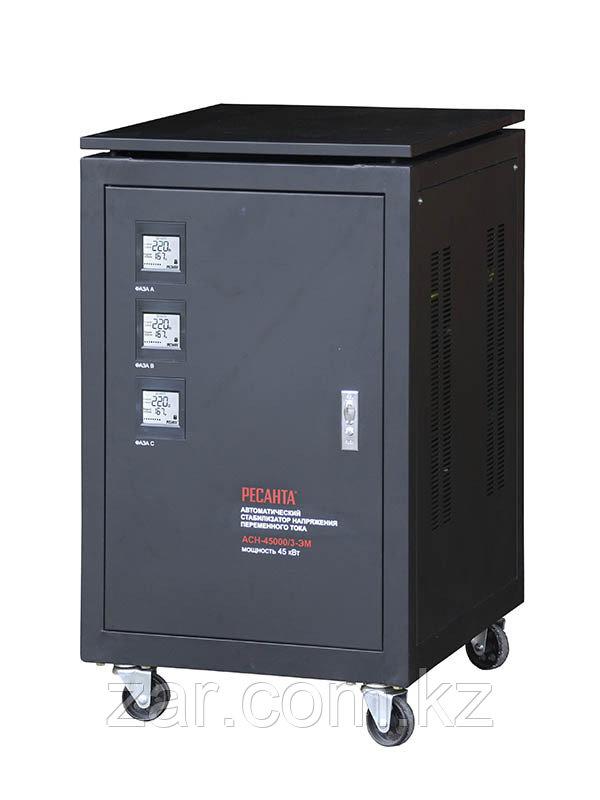 Ресанта АСН-45000/3-ЭМ Трехфазный электромеханический стабилизатор