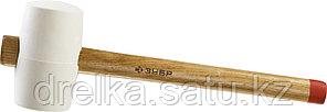 """Киянка ЗУБР """"МАСТЕР"""" резиновая белая, с деревянной рукояткой, 0,68кг , фото 2"""