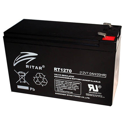 Аккумуляторная батарея Ritar RT1270, фото 2