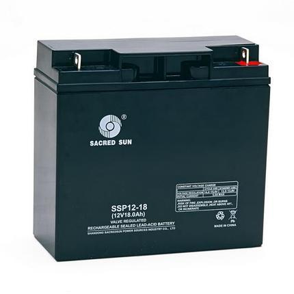 Аккумуляторная батарея Sacred Sun SSP12-18, фото 2