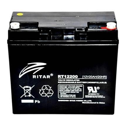 Аккумуляторная батарея Ritar RT12200, фото 2