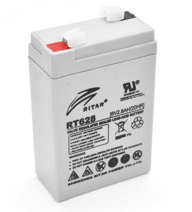 Аккумуляторная батарея Ritar RT628, фото 2