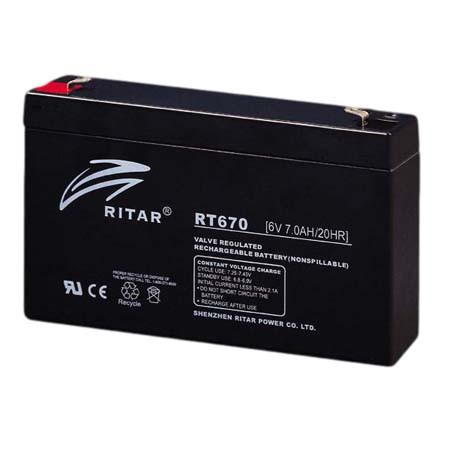 Аккумуляторная батарея Ritar RT670