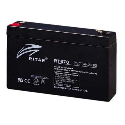 Аккумуляторная батарея Ritar RT670, фото 2