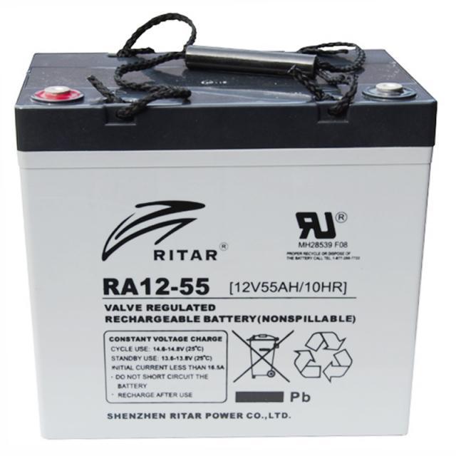 Аккумуляторная батарея Ritar RA12-55