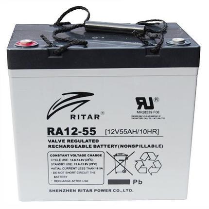 Аккумуляторная батарея Ritar RA12-55, фото 2