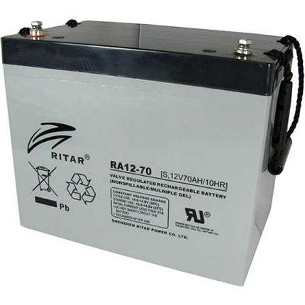 Аккумуляторная батарея Ritar RA12-70, фото 2