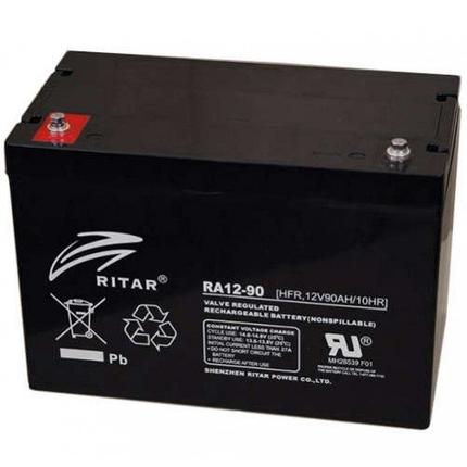 Аккумуляторная батарея Ritar RA12-90, фото 2