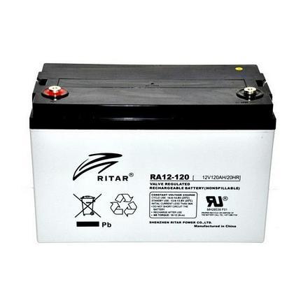 Аккумуляторная батарея Ritar RA12-120S, фото 2