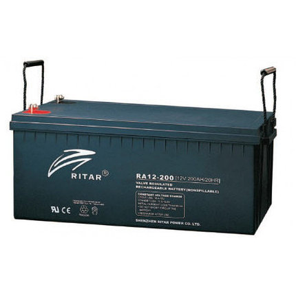 Аккумуляторная батарея Ritar RA12-200, фото 2