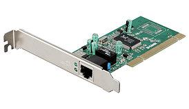 Сетевой адаптер PCI Gigabit Ethernet D-Link DGE-528T, 1 порт