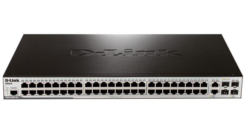 Коммутатор D-Link DES-3200-52/C1B