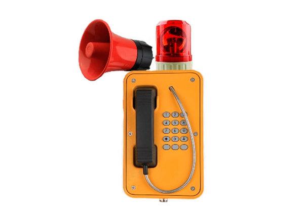 Промышленный SIP телефон с маячком J&R JR103, фото 2