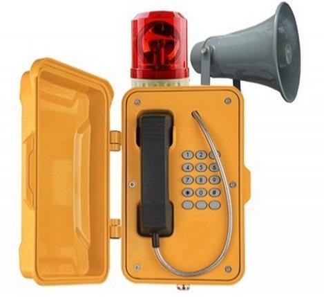 Промышленный SIP телефон с моячком J&R JR101, фото 2