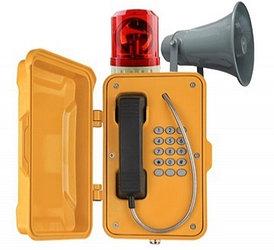 Промышленный SIP телефон с моячком J&R JR101