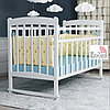 Кровать детская ВДК Selia колесо-качалка белый