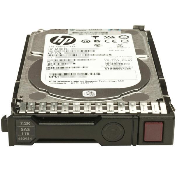 Жесткий диск HP 1TB 6G SAS 7200K