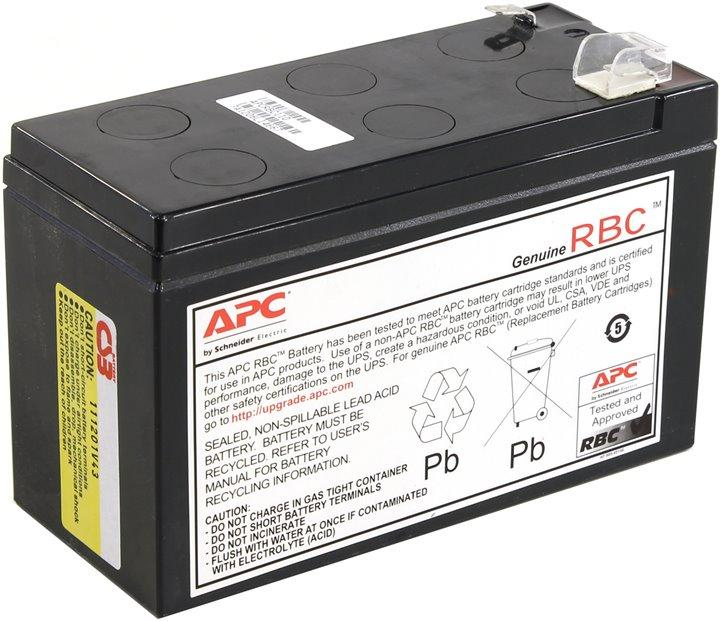 Аккумуляторный картридж для ИБП APC APCRBC110