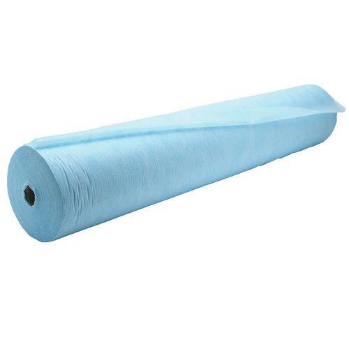 Простыни одноразовые из материала спанбонд, 25 гр/м2. Цвет голубой.