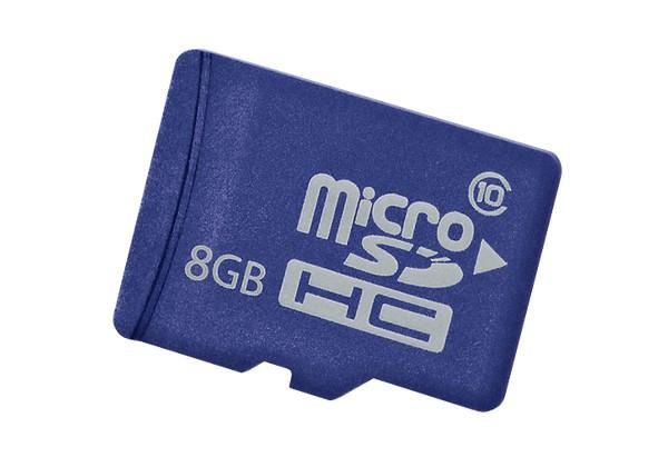 Карта памяти microSD HP 8ГБ