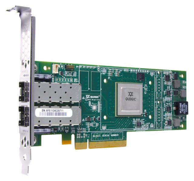 Контроллер Dell Qlogic 2662 Dual Port 16GB Fibre Channel