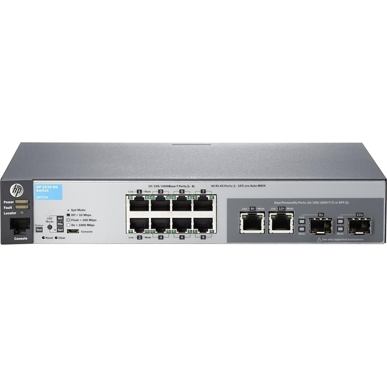 Коммутатор HP 2530-G8 L2