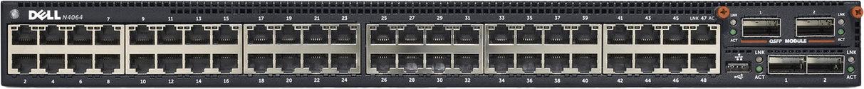 Коммутатор Dell N4064 48x 10GBASE-T, фото 2