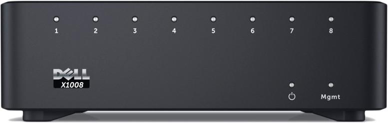 Коммутатор Dell Networking X1008