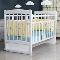 Кровать детская ВДК Selia маятник белый