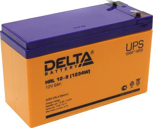 Аккумуляторная батарея Delta HRL 12-9, фото 2