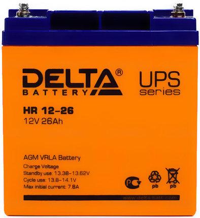 Аккумуляторная батарея Delta HR 12-26, фото 2