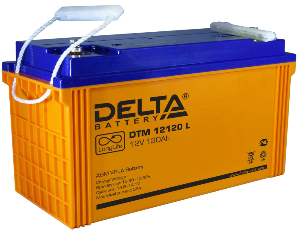 Аккумуляторная батарея Delta DTM 12120L