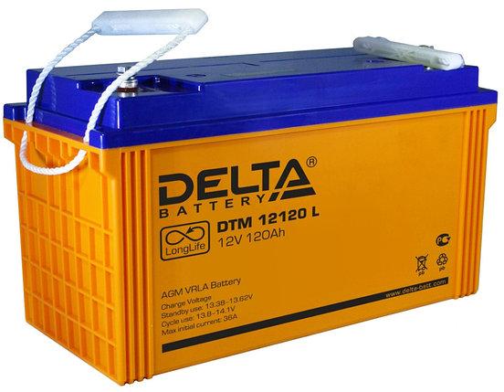 Аккумуляторная батарея Delta DTM 12120L, фото 2