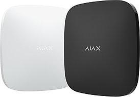 Интеллектуальный центр системы безопасности Ajax Hub белый/черный