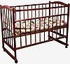 Детская кроватка Фея 204 колесо-качалка