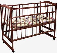 Детская кроватка Фея 204 колесо-качалка, фото 1