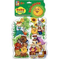 "Мягкие пазлы""  ""Baby puzzle Сказки Колобок"" , фото 1"