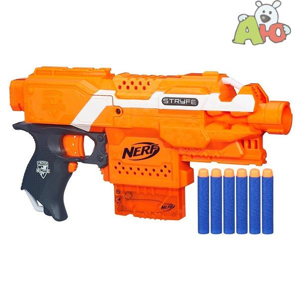 Hasbro Nerf N-Strike Elite Пистолет Бластер Страйф (Stryfe)