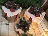 Декоративные коробочки подарочные светящиеся
