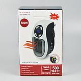 Портативный обогреватель mini heater 500watt, фото 2