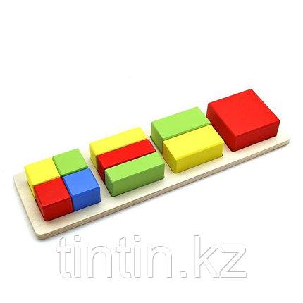 Вкладыши - доли квадрата, фото 2