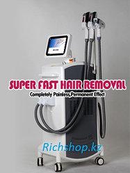 Многофункциональный  OPT SHR IPL RF YAG Лазерный Аппарат