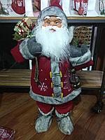 """Премиум новогодняя игрушка """"Дед мороз"""" 60 см"""