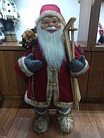 """Премиум новогодняя фигура """"Дед мороз"""" 82 см"""