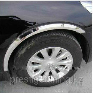 Хромированные арки на Mazda CX-5